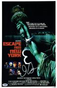 John Carpenter Signed Escape From New York Auto 11x17 Poster PSA/DNA #AA40904