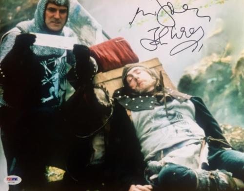 John Cleese & Eric Idle Monty Python Signed 11x14 Photo Psa/Dna