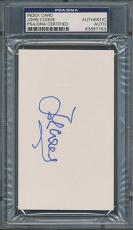 John Cleese Index Card PSA/DNA Certified Authentic Auto Autograph Signed *7783