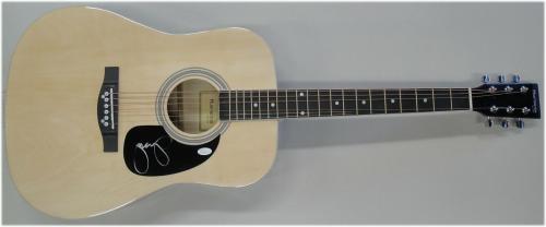 John Cougar Mellancamp Signed Autographed Full Size Acoustic Guitar JSA S40636