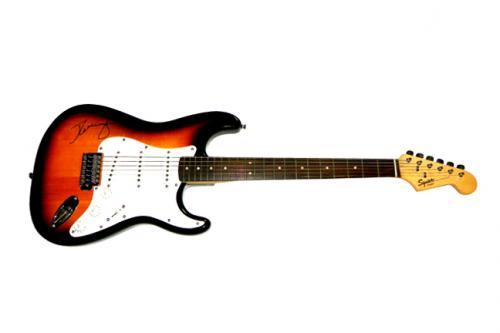 John Cougar Mellencamp Autographed Guitar UACC RD COA AFTAL