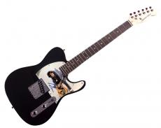 John Cougar Mellencamp Autographed Photo Tele Guitar Uacc Rd Coa AFTAL