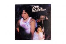 John Cougar Mellencamp Autographed Signed Album LP AFTAL