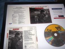 John Cougar Mellencamp Autographed Signed Scarecrow Psa/dna Cd Cover
