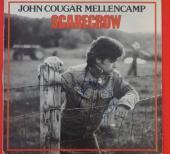John Cougar Mellencamp Scarecrow Signed Autographed Record Album LP