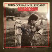 John Cougar Mellencamp Scarecrow Signed Autographed Record Album LP B