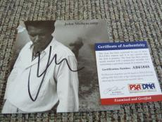 John Cougar Mellencamp Sexy Autographed Signed CD Cover PSA Certified