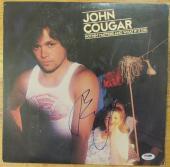 John Cougar Mellencamp Signed Album Cover - Nothin' Matters - PSA DNA