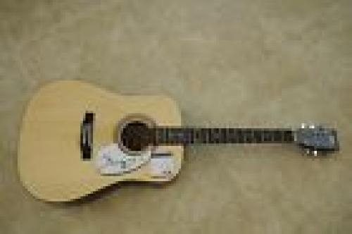 John Cougar Mellencamp Signed Autographed Acoustic Guitar PSA Certified