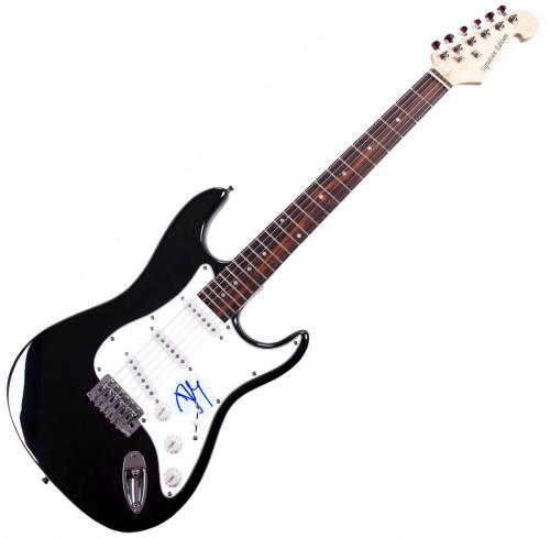 John Cougar Mellencamp Signed Autographed Guitar AFTAL UACC RD COA