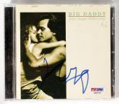 JOHN COUGAR MELLENCAMP SIGNED BIG DADDY CD INSERT COVER + COMPACT DISC w/PSA COA
