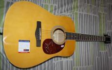 John Cougar Mellencamp signed Guitar, American Fool, Scarecrow, PSA/DNA Z51228