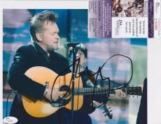 JOHN COUGAR MELLENCAMP Signed Music 8x10 photo + JSA COA S53989 / NFL MLB