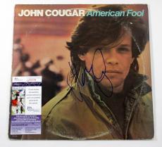 John Cougar Mellencamp Signed Record Album American Fool w/ JSA AUTO DF020060