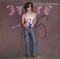 John Cougar Mellencamp signed uh huh Record Album LP Cover- JSA Hologram #L45649