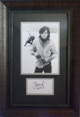 Autographed John Cougar Mellencamp Photo - framed display JSA