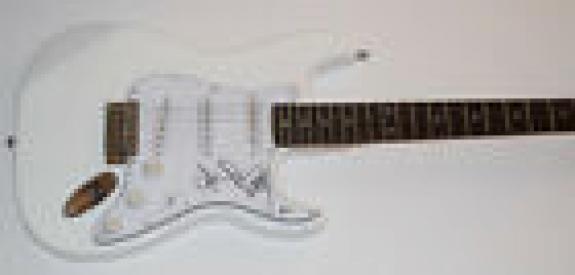 John Densmore Signed Autographed Electric Guitar THE DOORS Beckett BAS COA