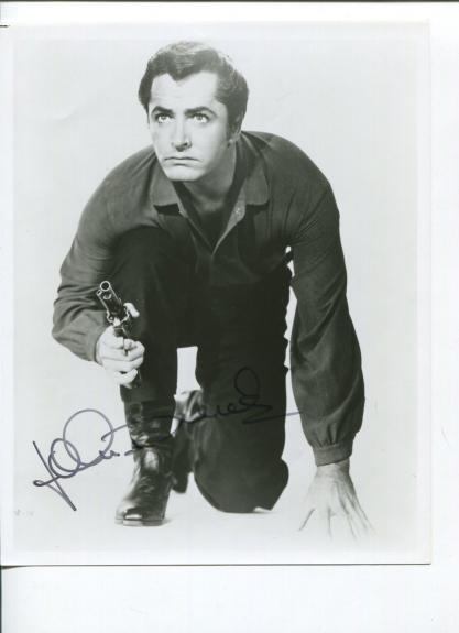 John Derek The Ten Commandments Frontier Circus Rare Signed Autograph Photo