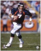 """John Elway Denver Broncos Autographed 16"""" x 20"""" Scramble Photograph"""