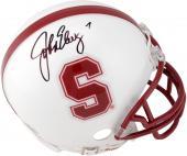 John Elway Stanford Cardinal Autographed Riddell Mini Helmet