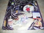 John Entwistile Who Whistle Rymes Signed Autograph LP Album Record PSA Certified