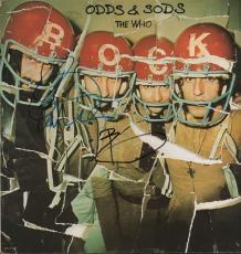 John Entwistle Pete Townshend Signed Odds & Sods Album Cover AFTAL