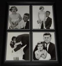 John F Kennedy & Caroline Framed 18x24 Photo Collage JFK