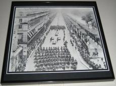John F Kennedy JFK 1961 in Paris Framed 11x14 Photo Poster Display