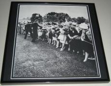John F Kennedy JFK 1962 Natl Democratic Women's Conf Framed 11x14 Photo Display