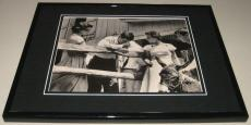 John F Kennedy Kennedy Brothers Framed 8x10 Photo Poster