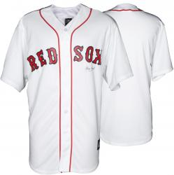 John Farrell Boston Red Sox Autographed Majestic Replica Home Jersey - Mounted Memories