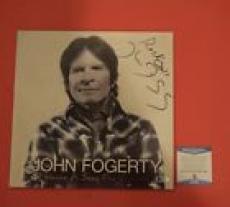 John Fogerty Signed Autograph Wrote A Song for Everyone Record Album LP BAS COA