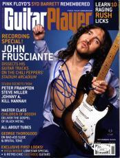 John Frusciante Autographed Signed Guitar Player Magazine UACC RD AFTAL RACC TS