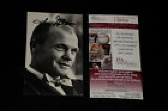 John Glenn 1985 Life Magazine Signed Autographed Card #214 Astronaut Jsa Cert.