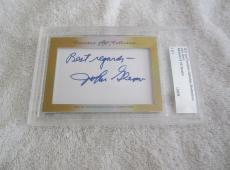 John Glenn 2017 Leaf Masterpiece Cut Signature auto signed autographed 1/1 JSA