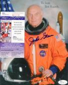 John Glenn Astronaut Deceased Signed Autographed 8x10 Photo Jsa R02738