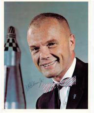 John Glenn Astronaut Senator signed 8x10 photo PSA/DNA autographed