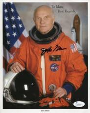 John Glenn Autographed 8x10 Photo (JSA)