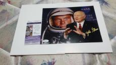 John Glenn Autographed 8x10 Photo Signed Jsa Authenticated Not Personalized Rare
