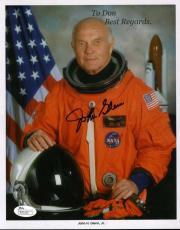 John Glenn Jsa Cert Hand Signed 8x10 Photo Authenticated Autograph