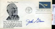 John Glenn Jsa Coa Hand Signed 1962 Nasa Fdc Authenticated Autograph