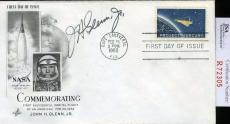 John Glenn Jsa Coa Hand Signed Nasa Fdc Authenticated Autograph
