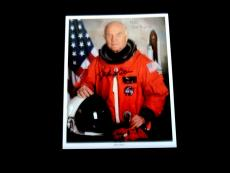 John Glenn Nasa Astronaut Mercury 6 Senator Signed Auto 8x10 Photo Jsa Authentic