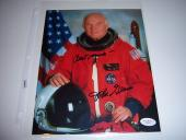 John Glenn Nasa Astronaut,senator Jsa/coa Signed 8x10 Photo