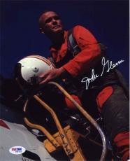 John Glenn NASA Autographed Signed 8x10 Photo Certified Authentic PSA/DNA
