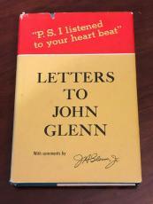 John Glenn NASA Mercury Astronaut Letters To John Glenn Signed Autograph Book