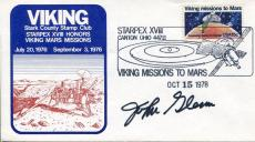 John Glenn NASA Mercury Astronaut US Senator Rare Signed Autograph FDC