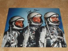 JOHN GLENN NASA SPACE ASTONAUT SIGNED IN-PERSON AUTOGRAPHED 8X10 PHOTO COA d