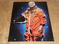 JOHN GLENN NASA SPACE ASTONAUT SIGNED IN-PERSON AUTOGRAPHED 8X10 PHOTO COA f