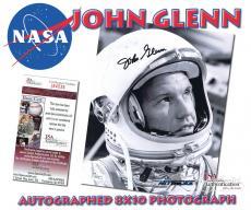 JOHN GLENN Signed ASTRONAUT SENATOR NASA Autographed 8x10 PHOTO - JSA #I84536